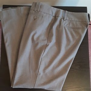 Ann Taylor Loft grey dress pants size 10P